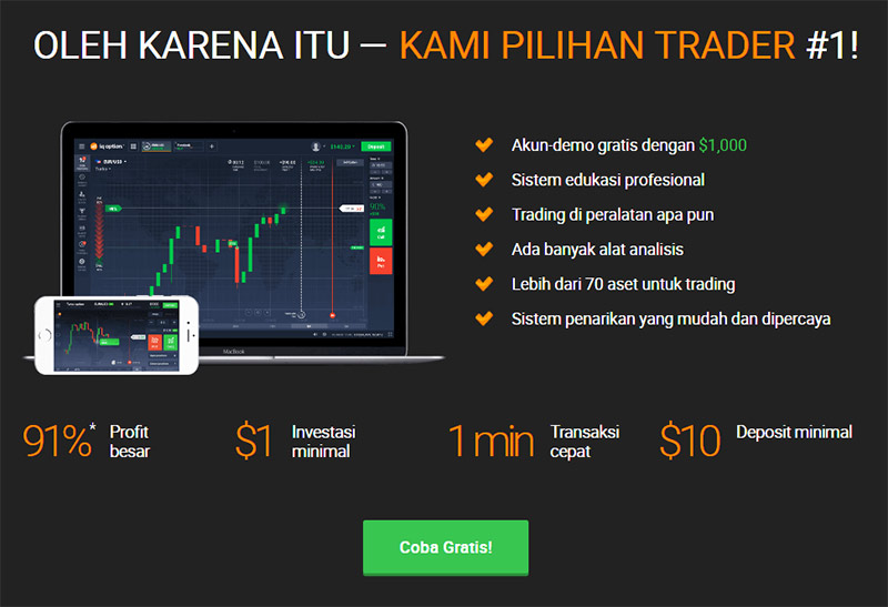 IQ Option Review - Apa Itu IQ Option? - Tradelina